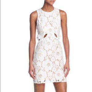 WAYF Drake Cutout Lace Dress